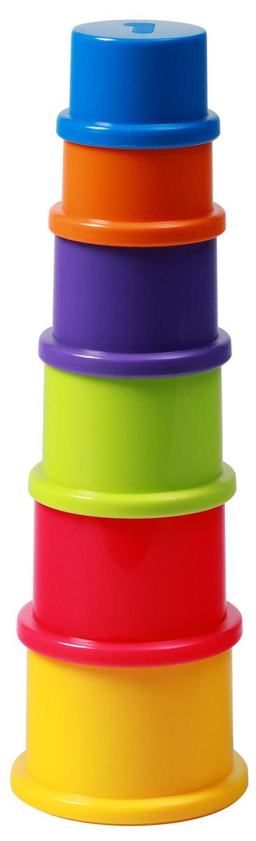 BabyOno Пирамидка Цифры игрушка пирамидка мишка топтыжка