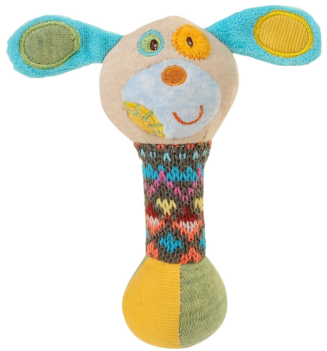 BabyOno Игрушка-пищалка Маленькая собачка babyono игрушка пищалка жираф