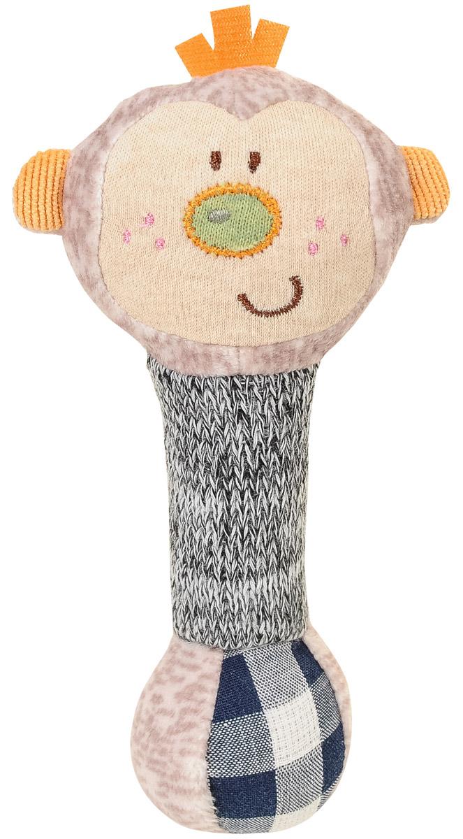 BabyOno Игрушка-пищалка Маленькая обезьянка babyono игрушка пищалка маленькая собачка