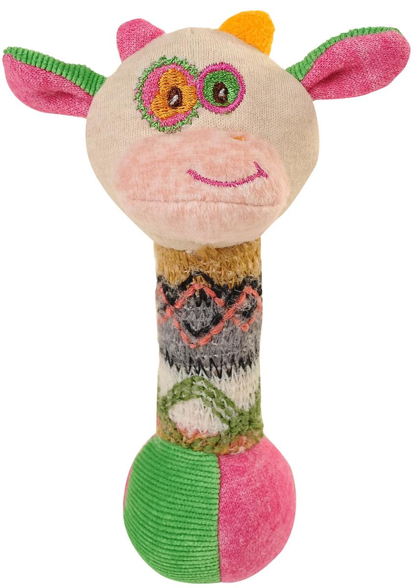 BabyOno Игрушка-пищалка Маленькая коровка babyono игрушка пищалка маленькая собачка