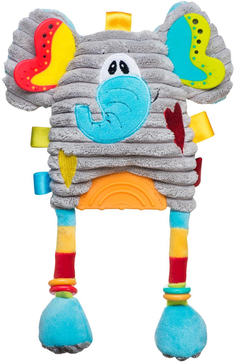 BabyOno Развивающая игрушка Слоник babyono игрушка пищалка babyono овечка с прорезывателем