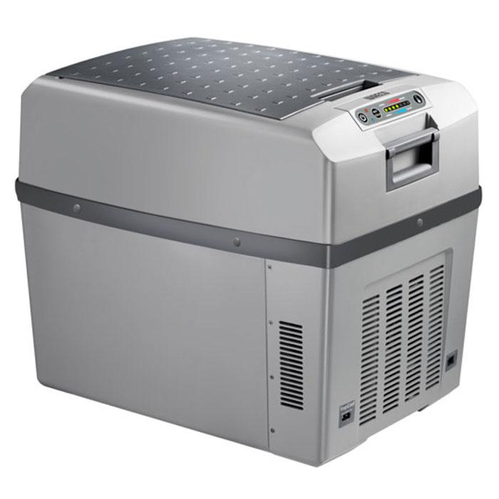 Waeco TropiCool TCX-35 автохолодильник 35 лTCX-35Waeco TropiCool TCX-35 - это мобильный холодильник с термоэлектрической системой, разработанный специально для легковых автомобилей. Камера модели имеет вместительность 35 литров, и может сохранять холодными не только продукты, но и напитки. В качестве источника питания агрегат способен использовать сеть с разными напряжениями: 12/24/230 В.Термоэлектрические холодильники Waeco не используют доя работы фреон, а значит не оказывают негативного воздействия на окружающую среду, поскольку их принцип работы совершенно не похож на принцип работы привычных ботовых холодильных приборов. Также стоит отметить, что агрегаты отличаются большим ресурсом работы и неприхотливы в эксплуатационных условиях.7-ступенчатая регулировка охлаждения и нагреваПолезный объем: 33 лОтображение температуры на дисплееФункция запоминания последних настроекКласс потребления энергии: A++Интеллектуальная цепь экономии энергииДинамическая вентиляция внутреннего отсекаИзносоустойчивые вентиляторыНагрев до +65°CОхлаждение до температуры на 30°C ниже температуры окружающего воздуха
