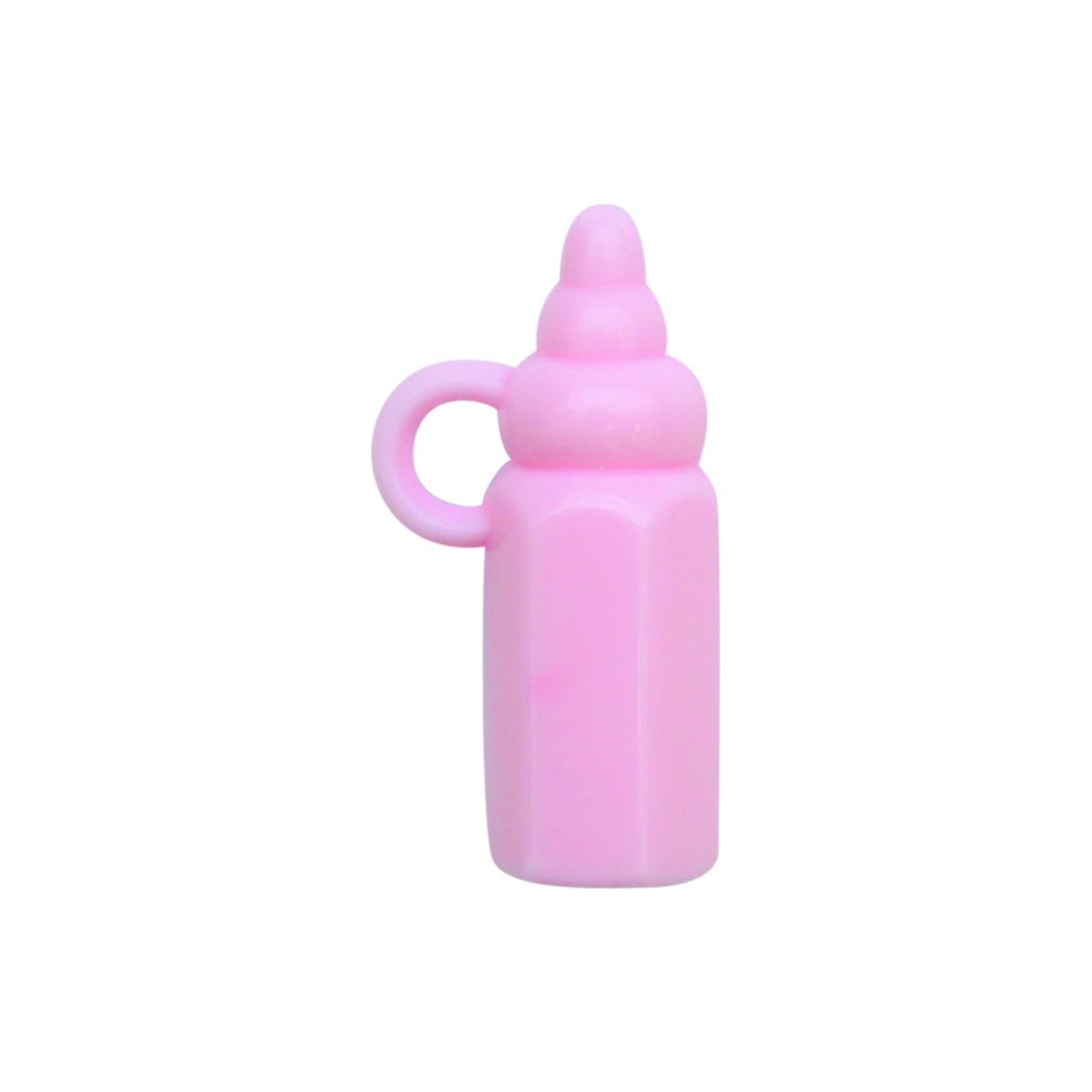 Декоративный элемент Lan Jing Ling Бутылочка, цвет: розовый, 6 шт580792_ розовыйМиниатюрные декоративные элементы, выполненные из пластика. Используются при создании авторских фотоальбомов, открыток и так далее. В упаковке 6 шт.