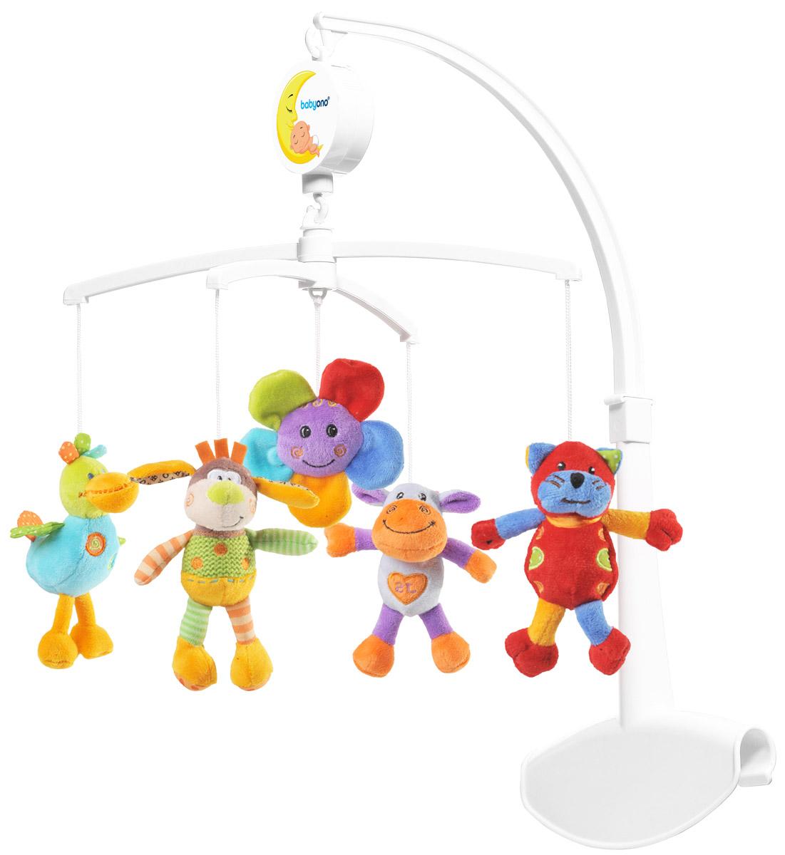 BabyOno Музыкальная карусель Веселая ферма - Игрушки для малышей