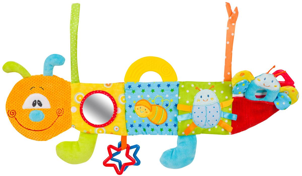 BabyOno Развивающая игрушка Мультисенсорная гусеница купить развивающую игрушку для девочки 1 год