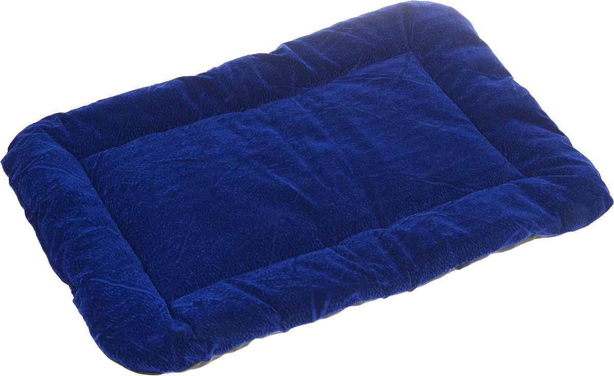 Матрас для животных Зоомарк, цвет: синий, 42 х 62 см531Матрас Зоомарк, выполненный из флока, обязательно понравится вашему питомцу. Он очень удобный и уютный. Ваш любимец сразу же захочет забраться на матрас, там он сможет отдохнуть и подремать в свое удовольствие. Такой матрас необходим для организации собственного уголка питомца в доме, а компактные размеры позволят поместить его где угодно.