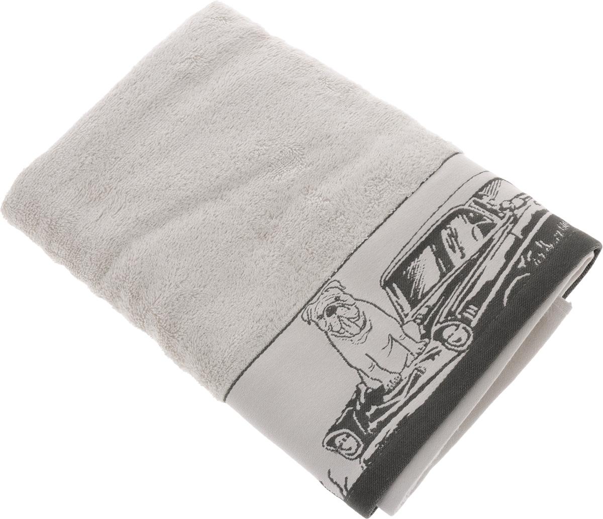 Полотенце Mona Liza Pet, цвет: светло-серый, серый, 70 х 140 см529672/2Мягкое полотенце Pet изготовлено из 30% хлопка и 70% бамбукового волокна. Полотенце Pet с жаккардовым бордюром обладает высокой впитывающей способностью и сочетает в себе элегантную роскошь и практичность. Благодаря высокому качеству изготовления, полотенце будет радовать вас многие годы. Мотивы коллекции Mona Liza Premium bu Serg Look навеяны итальянскими фресками эпохи Ренессанса, периода удивительной гармонии в искусстве. В представленной коллекции для нанесения на ткань рисунка применяется многоцветная печать, метод реактивного крашения, который позволяет создать уникальную цветовую гамму, напоминающую старинные фрески. Этот метод также обеспечивает высокую устойчивость краски при стирке.