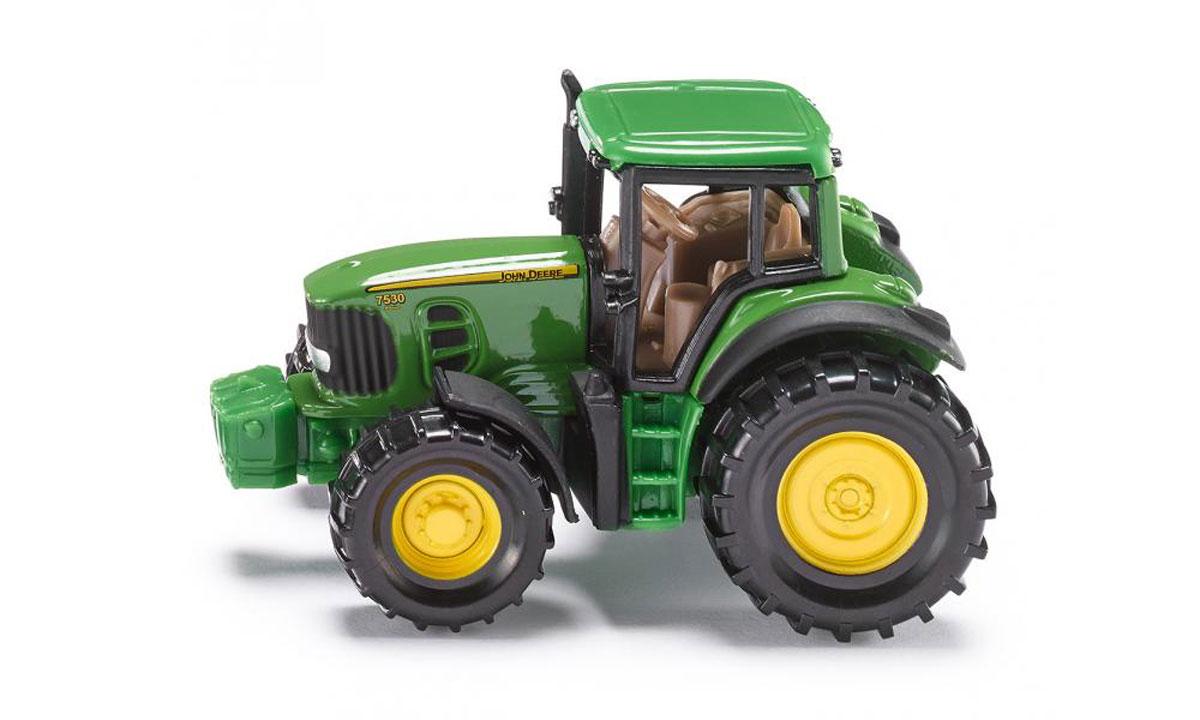 Siku Трактор John Deere 7530 машины tomy john deere трактор monster treads с большими колесами и вибрацией