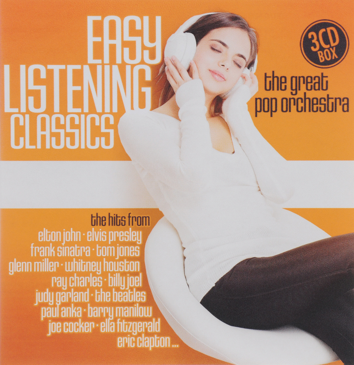 Easy Listening Classics. The Great Pop Orchestra (3 CD)