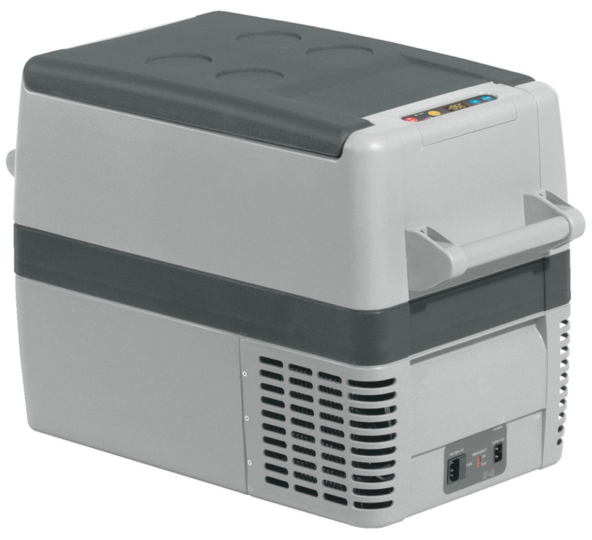 Автомобильный компрессорный холодильник Waeco CoolFreeze CF-40 АС предназначен для эксплуатации на отдыхе, в походах или путешествиях. Он оснащен уникальным маленьким герметичным компрессором переменного тока. Производителем также предусмотрена специальная защитная система от перепадов напряжения.Автомобильные холодильники от компании Waeco эффективно работают в любое время года, практичны и удобны в эксплуатации, а также отличаются прочностью и долговечностью.Быстрое охлаждение3-х ступенчатое защитное релеВнутреннее освещениеСъемная крышкаОхлаждение: от +10 до -18°СВынимающаяся корзина
