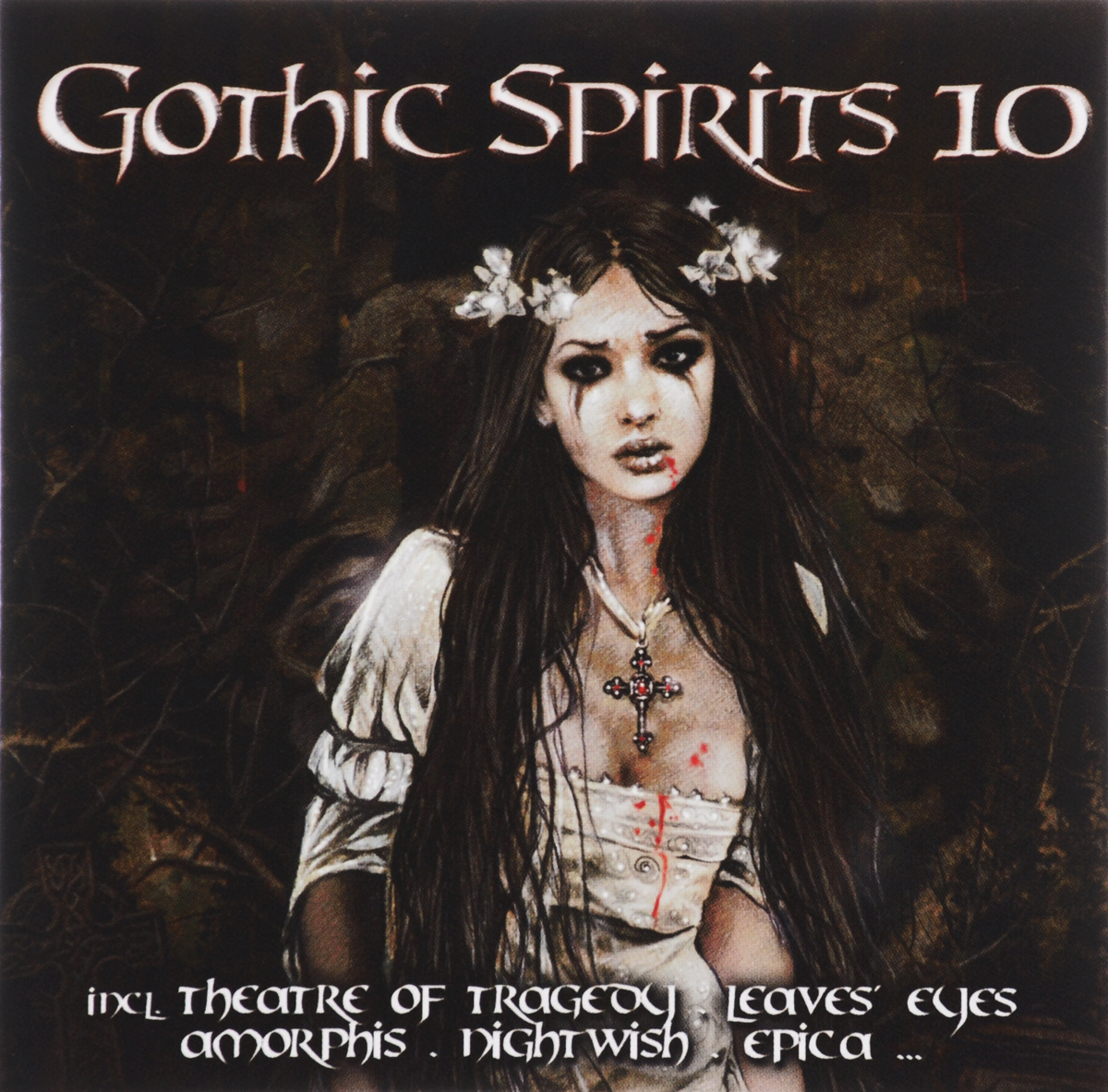 Epica,Theatre of Tragedy,Sirenia,Leaves' Eyes,Saltatio Mortis,Trail Of Tears,The Raven,Megaherz,Deathstars,Mono Inc.,The 69 Eyes,Amorphis,Paradise Lost,Lacuna Coil,Delain,Krypteria,Dark The Suns,Dope Stars Inc.,Lacrimosa,In This Moment Gothic Spirits 10 (2 CD) mono inc hamburg