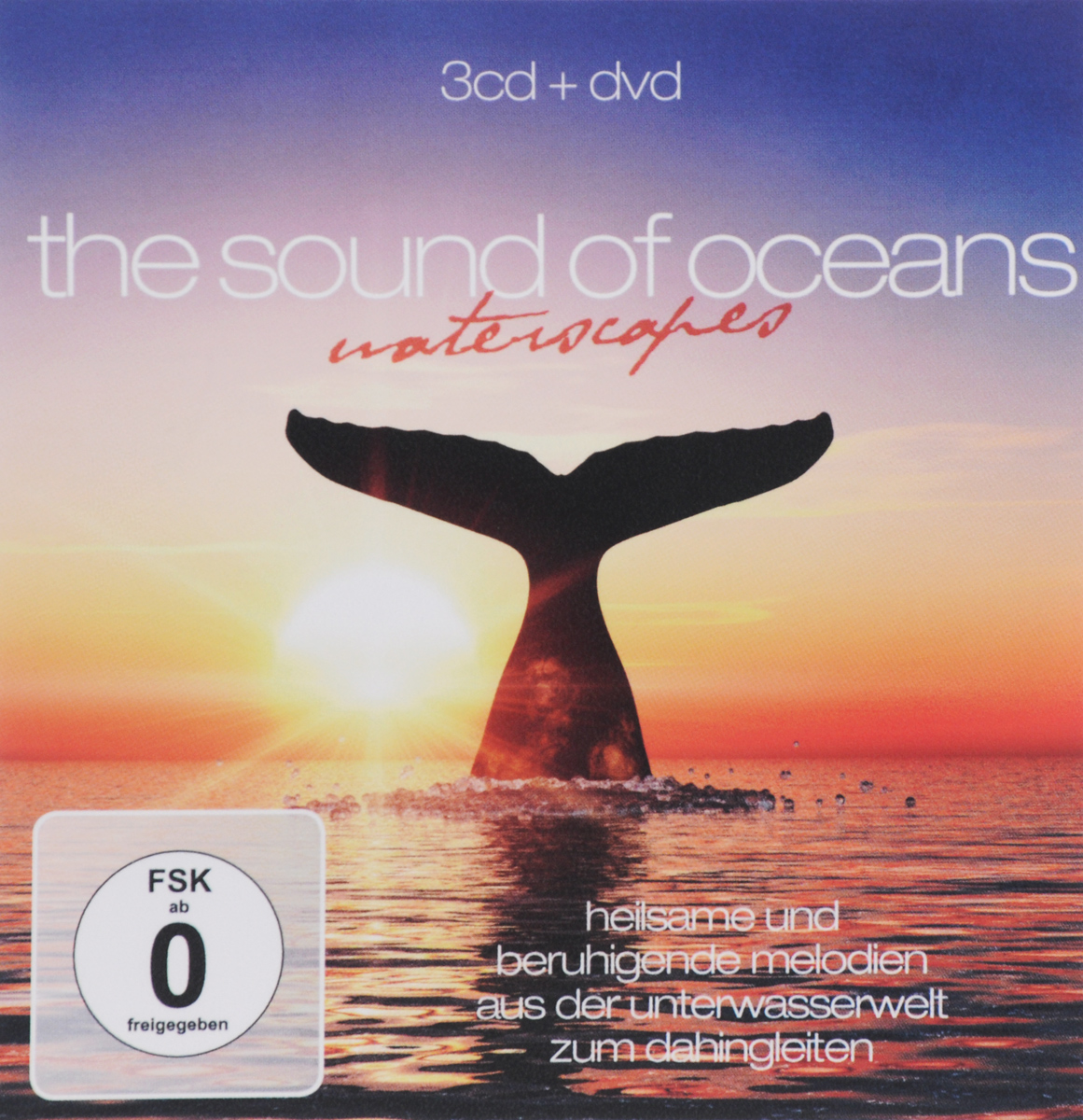The Sound Of Oceans. Waterscapes (3 CD + DVD)