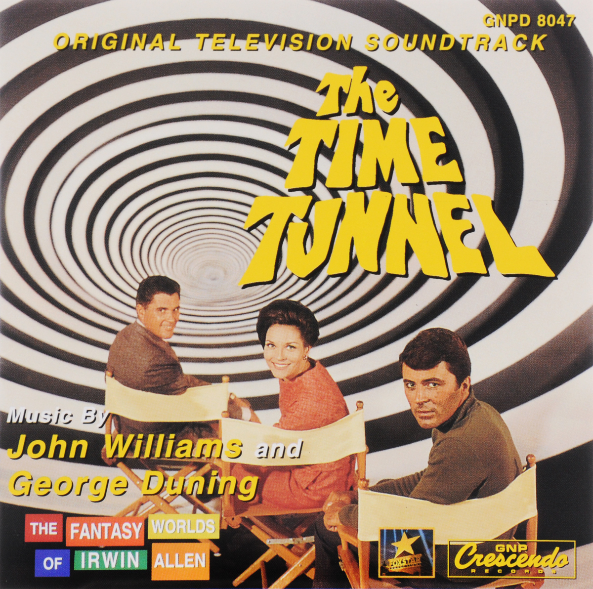 The Fantasy Worlds Of Irwin Allen. Vol. 4. The Time Tunnel. Original Television Soundtrack