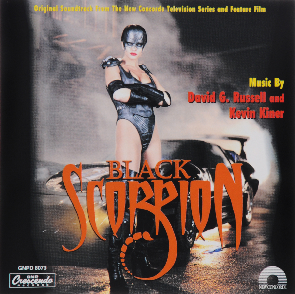 David G. Russel, Kevin Kiner. Black Scorpion. Original Soundtrack