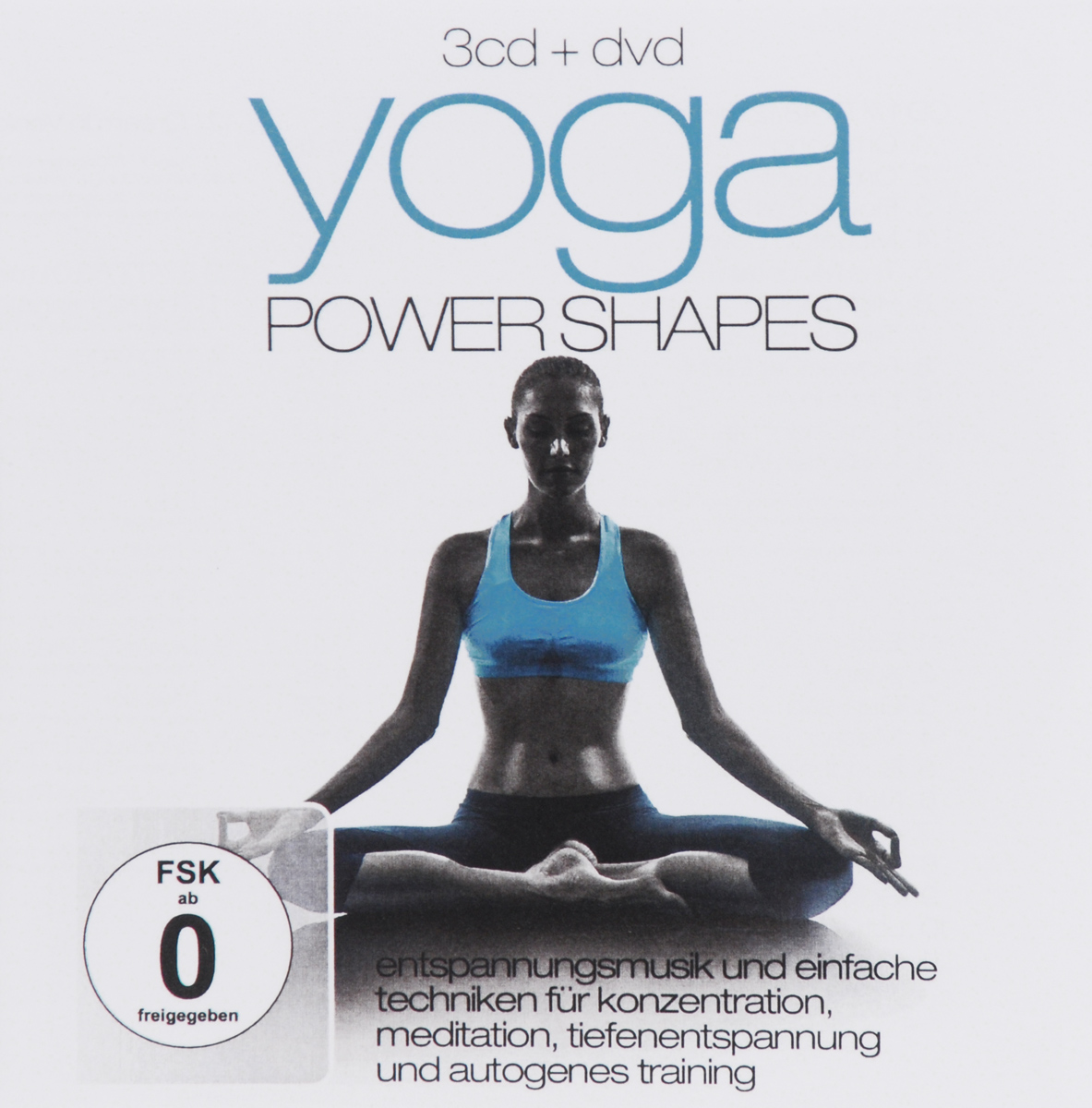 Yoga Power Shapes (3 CD + DVD)