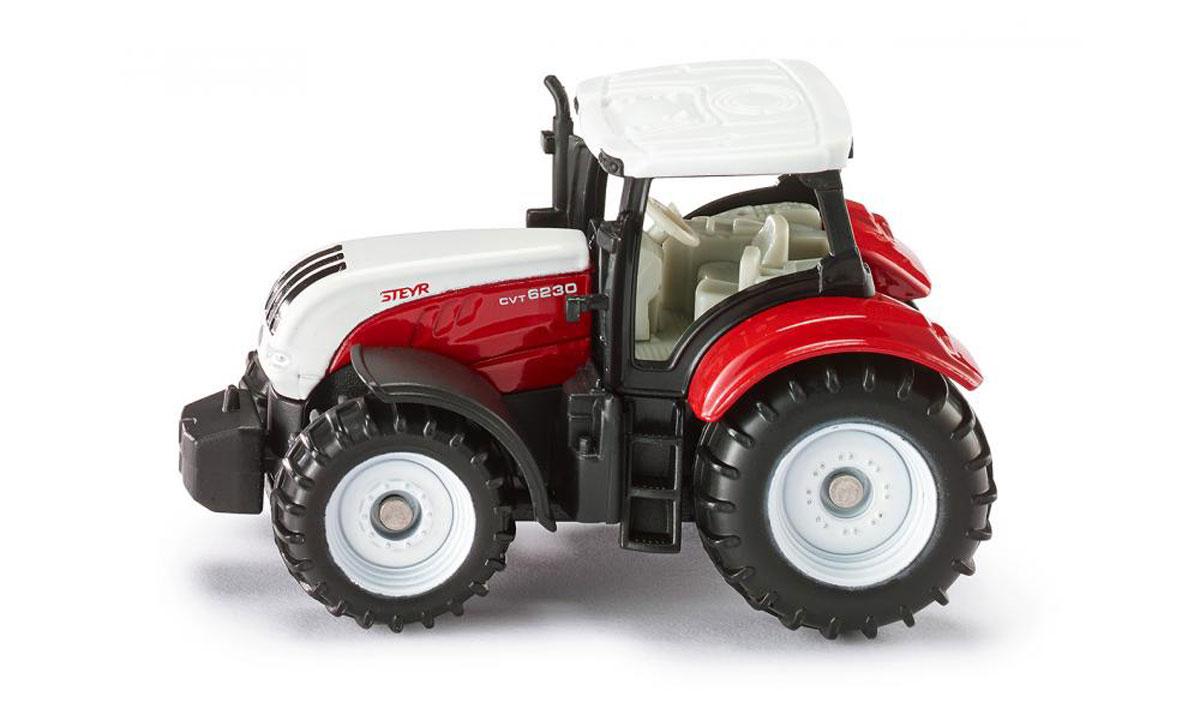Siku Трактор Steyr 6230 CVT машинки siku трактор с опрыскивателем