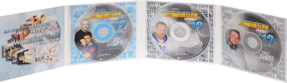 Technobase. Fm.  Volume 12 (3 CD) Волтэкс-инвест,ZYX Music