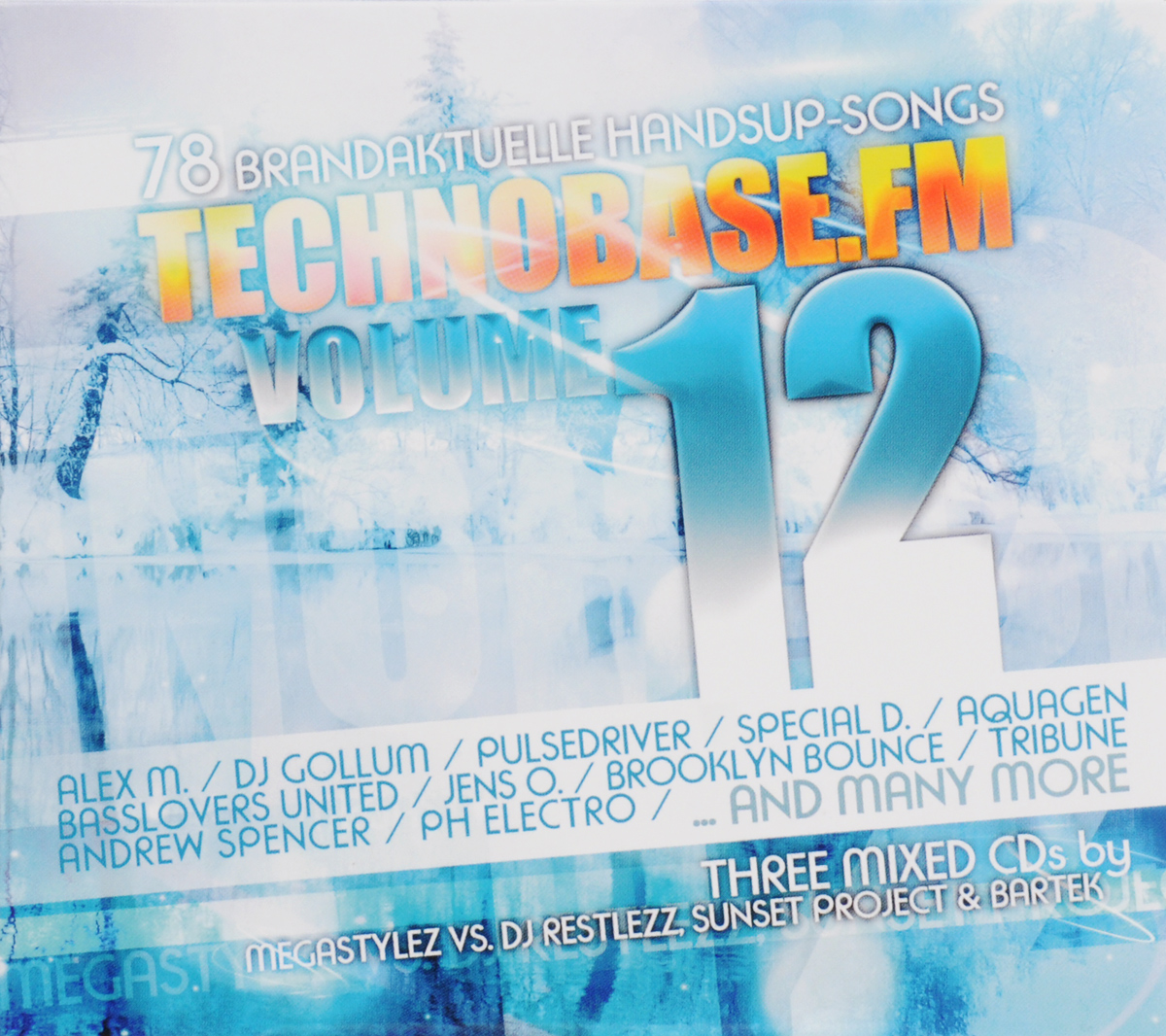 Technobase.Fm. Volume 12 (3 CD)
