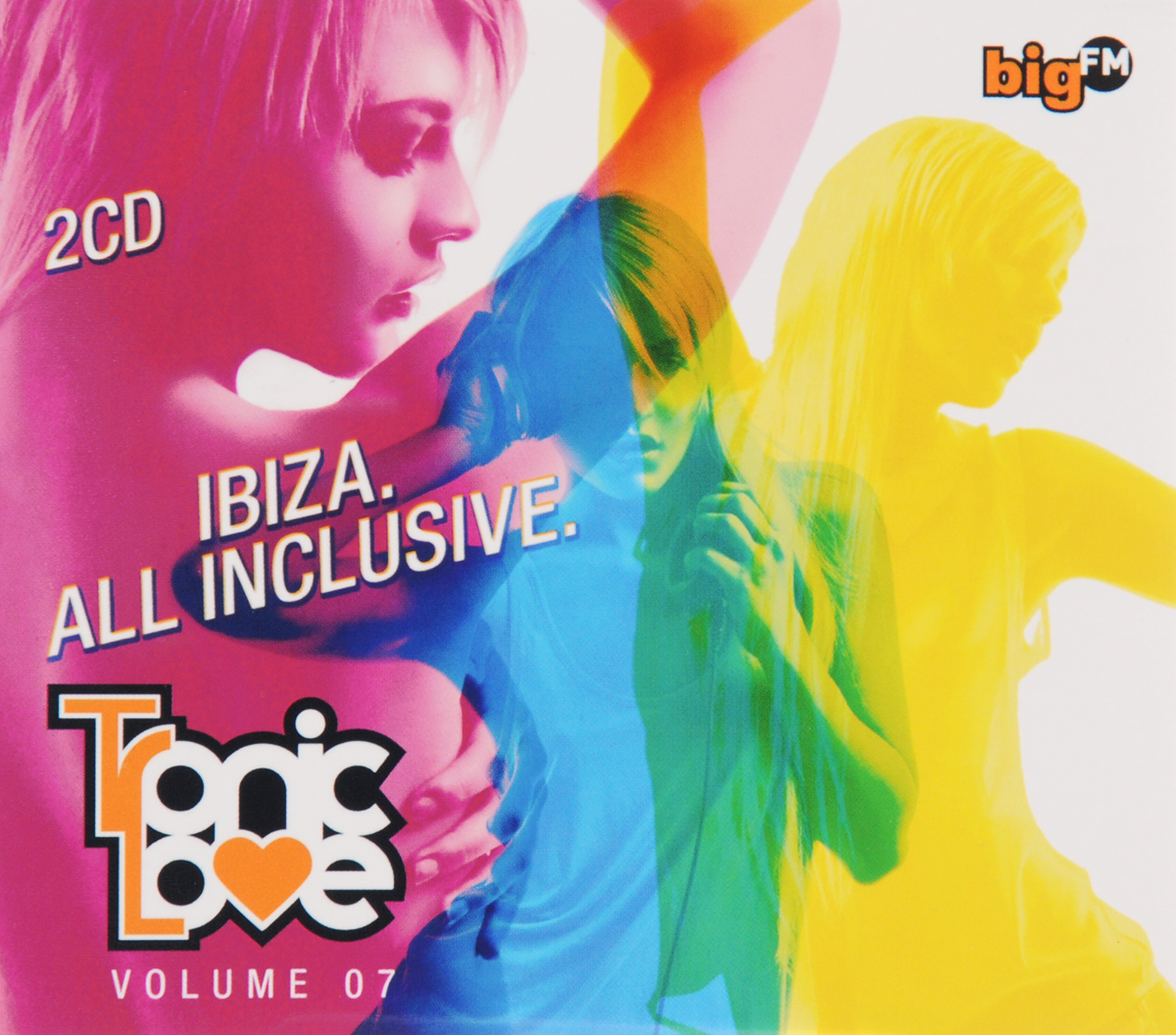 Big FM. Tronic Love. Volume 07 (2 CD)