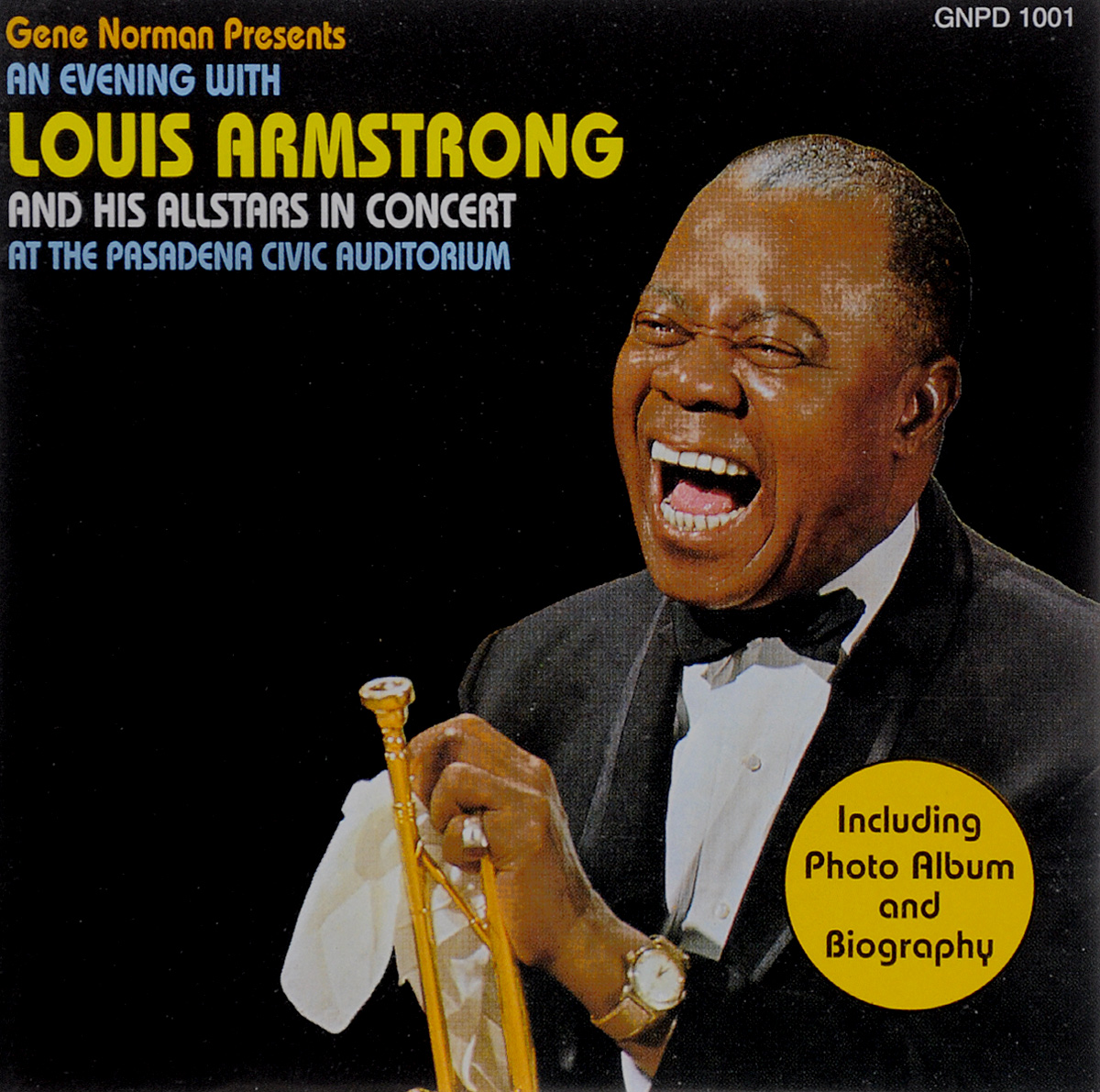 Луи Армстронг Louis Armstrong. An Evening with Louis Armstrong and his Allstars in Concert. At the Pasadena Civic Auditorium