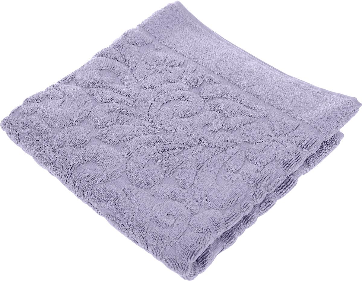 Коврик-полотенце для ванной Issimo Home Valencia, цвет: фиолетовый, 50 x 80 см4704Коврик-полотенце для ванной Issimo Home Valencia выполнен из высококачественного хлопка и бамбука. Такое изделие подарит вам массу положительных эмоций и приятных ощущений. Коврик отличается нежностью и мягкостью материала, утонченным дизайном и превосходным качеством. Он прекрасно впитывает влагу, быстро сохнет и не теряет своих свойств после многократных стирок.