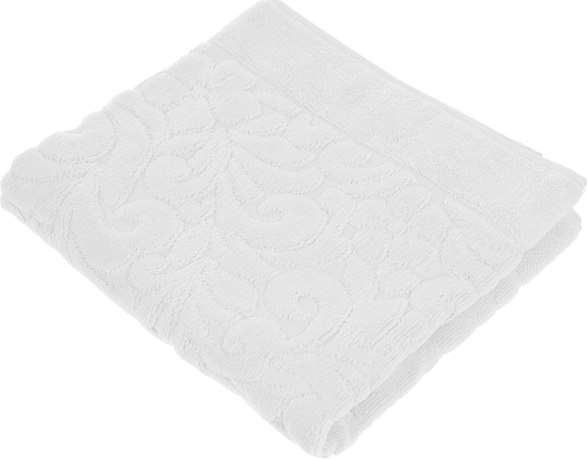 Коврик-полотенце для ванной Issimo Home Valencia, цвет: белый, 50 x 80 см4715Коврик-полотенце для ванной Issimo Home Valencia выполнен из высококачественного хлопка и бамбука. Такое изделие подарит вам массу положительных эмоций и приятных ощущений. Коврик отличается нежностью и мягкостью материала, утонченным дизайном и превосходным качеством. Он прекрасно впитывает влагу, быстро сохнет и не теряет своих свойств после многократных стирок.
