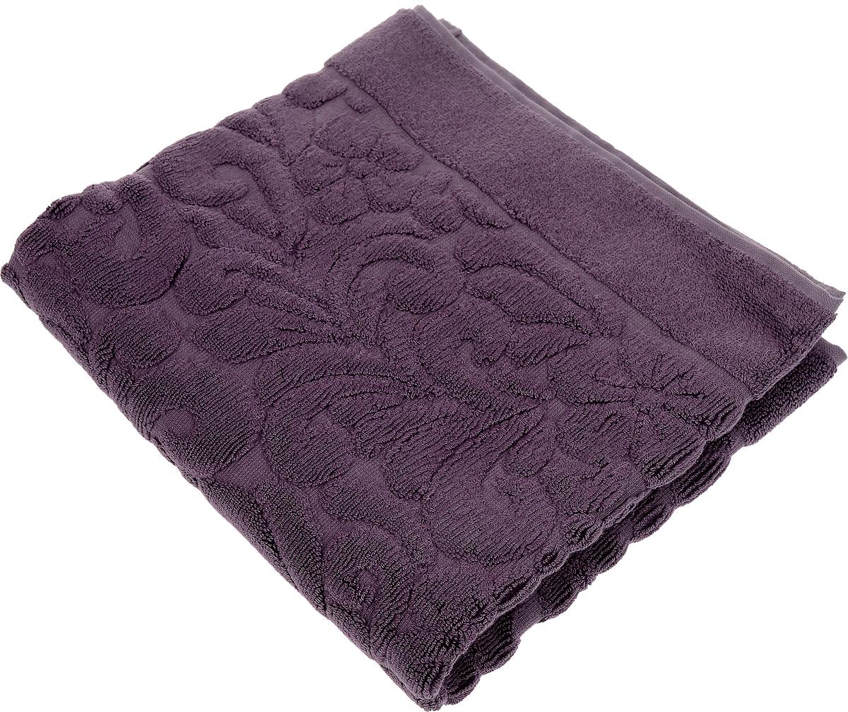 Коврик-полотенце для ванной Issimo Home Valencia, цвет: пурпурный, 50 x 80 см полотенце бамбуковое issimo home valencia цвет розовый 90 x 150 см