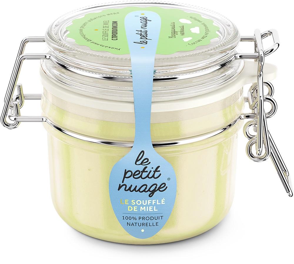 Le Petit Nuage мед-суфле с прополисом, 215 г peroni фестиваль мед суфле подарочный набор 3 шт по 30 г