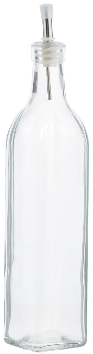 Емкость для масла и уксуса Zeller, 500 мл. 1972919729Емкость для масла или уксуса Zeller, выполненная из стекла, позволит украсить любую кухню. Она внесет разнообразие как в строгий классический стиль, так и в современный кухонный интерьер. Легка в использовании, стоит только перевернуть, и вы с легкостью сможете добавить оливковое масло или уксус. Оригинальная емкость будет отлично смотреться на вашей кухне.Диаметр по верхнему краю: 2,8 см. Высота емкости (с учетом крышки): 29,5 см.