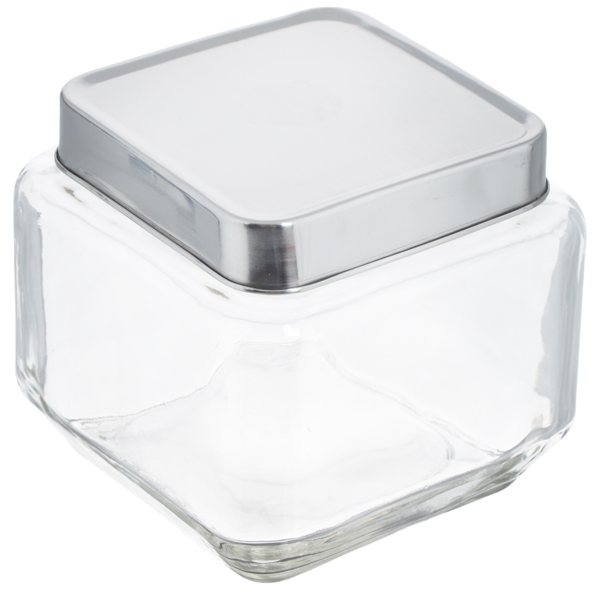Банка для хранения Zeller, 700 мл19906Банка Zeller, изготовленная из прочного стекла, снабжена металлической крышкой, которая плотно и герметично закрывается, дольше сохраняя аромат и свежесть содержимого. Изделие подходит для хранения сыпучих продуктов: круп, чая, специй, орехов, сахара и многого другого. Функциональная и вместительная, такая банка станет незаменимым аксессуаром на любой кухне. Размер банки (с учетом крышки): 10,5 х 10,5 х 10,5 см.