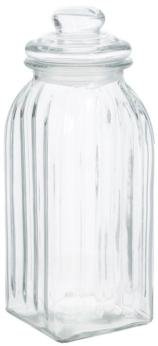 Банка для хранения Zeller, 1,5 л. 1993219932Банка Zeller, изготовленная из рифленого стекла, снабженакрышкой, которая плотно и герметично закрывается, дольшесохраняя аромат и свежесть содержимого. Изделие подходитдля хранения сыпучих продуктов: круп, чая, специй, орехов,сахара и многого другого. Функциональная и вместительная,такая банка станет незаменимым аксессуаром на любой кухне. Диаметр банки (по верхнему краю): 9,5 см.Размер основания банки (ДхШ): 10 х 10 см. Высота банки (с учетом крышки): 28 см.