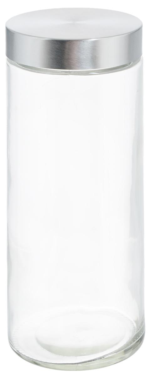 Банка для хранения Zeller, 2,1 л. 1991919919Банка Zeller, изготовленная из прочного стекла, снабжена металлической крышкой, которая плотно и герметично закрывается, дольше сохраняя аромат и свежесть содержимого. Изделие подходит для хранения сыпучих продуктов: круп, чая, специй, орехов, сахара и многого другого. Функциональная и вместительная, такая банка станет незаменимым аксессуаром на любой кухне. Диаметр банки (по верхнему краю): 10 см.Высота банки (без учета крышки): 27 см.