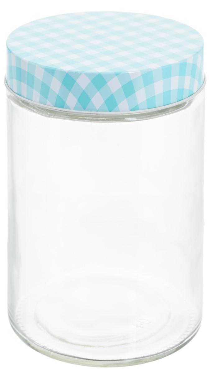 Банка для хранения Zeller, цвет: прозрачный, бирюзовый, 1,15 л19781_прозрачный, бирюзовыйУниверсальная банка Zeller, изготовленная из прочногостекла, снабжена металлической крышкой, которая плотнозакрывается, дольше сохраняя аромат и свежесть содержимого.Изделие подходит для хранения сыпучих продуктов: круп,специй, орехов, сахара, соли и многого другого.Функциональная и вместительная, такая банка станетнезаменимым аксессуаром на любой кухне. Диаметр банки (по верхнему краю): 10 см. Высота банки (без учета крышки): 17 см.