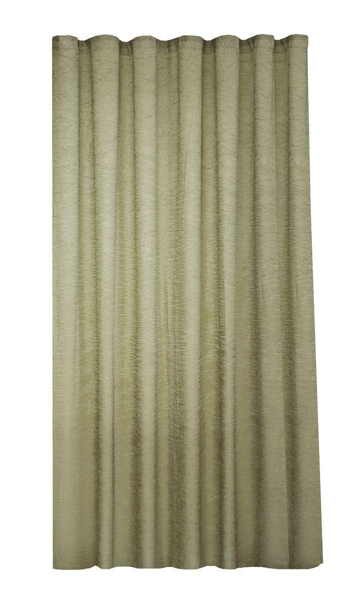 Штора Garden, на ленте, цвет: олива, высота 260 см. С W303 V73072С W303 V73072Garden – это универсальная и интересная серия домашних штор для яркого и стильного оформления окон и создания особенной уютной атмосферы. Эта штора великолепно смотрится как одна, так и в паре, в комбинации с нежной тюлевой занавеской, собранная на подхваты и свободно ниспадающая естественными складками. Такая штора, изготовленная полностью из прочного и очень практичного полиэстерового полотна, долговечна и не боится стирок, не сминается, не теряет своего блеска и яркости красок.