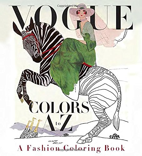 Vogue Colors A to Z: A Fashion Coloring Book coloring of trees