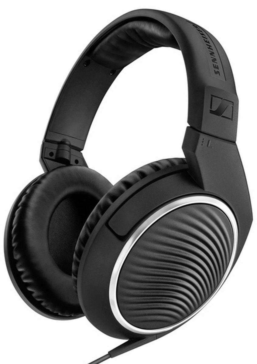 Sennheiser HD 461G, Black наушники506774Высококачественные преобразователи наушников Sennheiser HD 461 способны выдавать мощный звук с отчётливыми низкими частотами. Охватывающие амбушюры и закрытый акустический тип обеспечивают максимальный комфорт и защиту от окружающего шума. Эстетично привлекательные Sennheiser HD 461 гарантируют удовольствие от музыки в движении. С помощью интегрированного вкабель пульта управления с микрофоном можно отвечать на звонки, переключать треки и изменять уровень громкости при использовании со смартфонами или планшетами.L-образный штекер