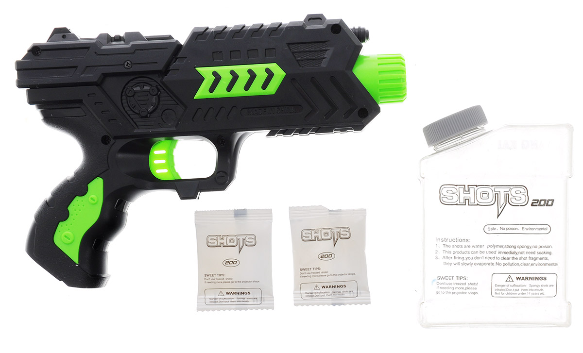 Dream Makers Пистолет Защитник ПЗК-15 цвет черный салатовый