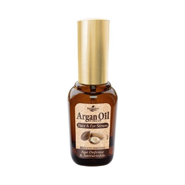 ArganOil Сыворотка для лица и кожи вокруг глаз антивозрастная против морщин 30 мл5200310405266Сыворотка с легкой консистенцией, прекрасно впитывается, идеальна для всех типов кожи. Рекомендуется с 25 лет. Активные ингредиенты:масло оливы, арганы увлажняет, питает, наполняет кожу витаминами. Экстракт граната - мощный антиоксидант, призван предотвращать появление морщин. Витаминизирует, содержит микроэлементы, придает коже эластичность, сужает поры и себорегулирует, восстанавливает липидный барьер кожи, убирает шелушения и раздражения. Алоэ, розмарин, морская спаржа –не дает коже пересыхать, дизенфицирует, выравнивает тон кожи. Косметика произведена в Греции на основе органического сырья, НЕ СОДЕРЖИТ минеральные масла, вазелин, пропиленгликоль, парабены, генетически модифицированные продукты (ГМО)