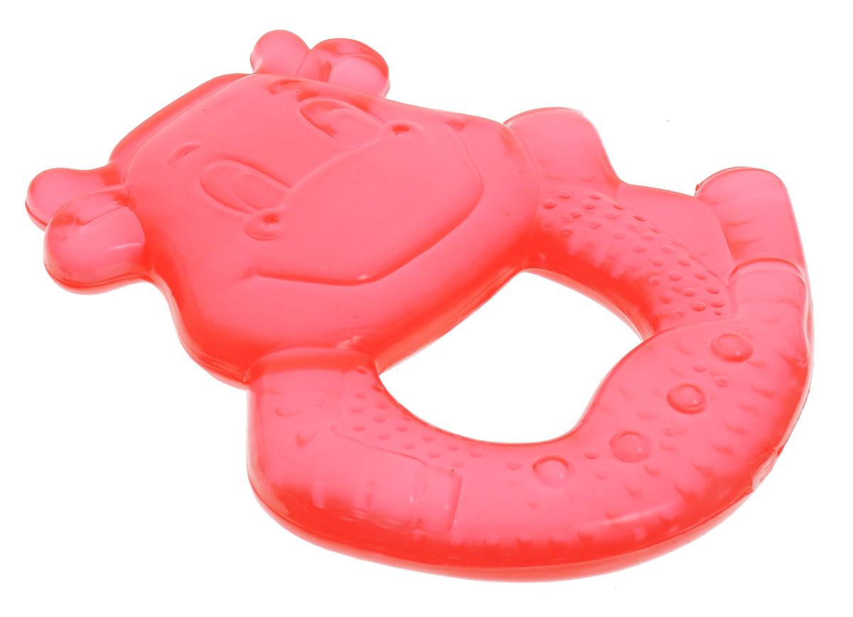 Canpol Babies Прорезыватель Бегемот охлаждающий цвет красный бегемотика из кожи в москве