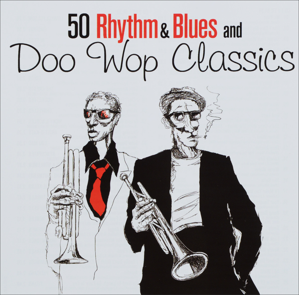 50 Rhythm & Blues And Doo Wop Classics (2 CD)