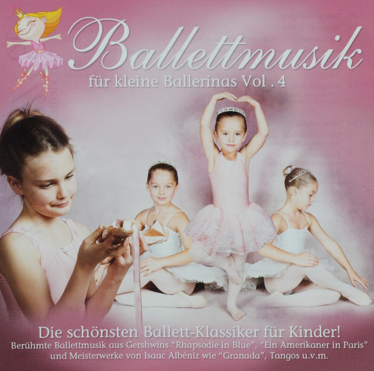 Philharmonia Slavonica Ballettmusik Fur Kleine Ballerinas. Vol. 4 (2 CD) der kleine konig psst dornroschen schlaft