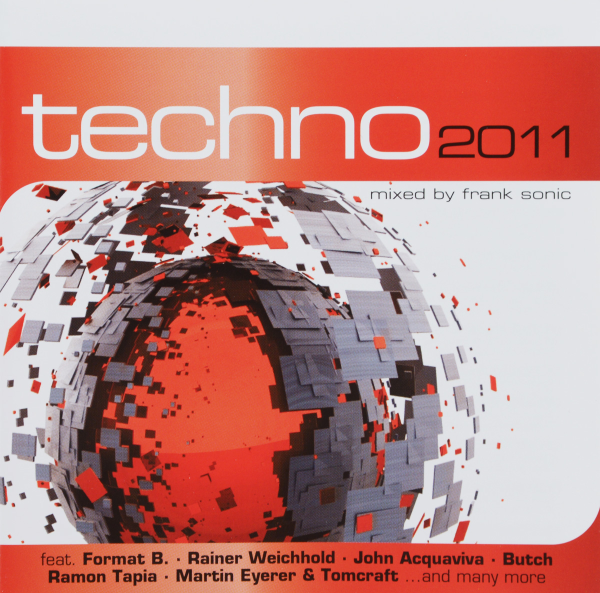 Techno 2011. Mixed By Frank Sonic (2 CD) sonic highways cd