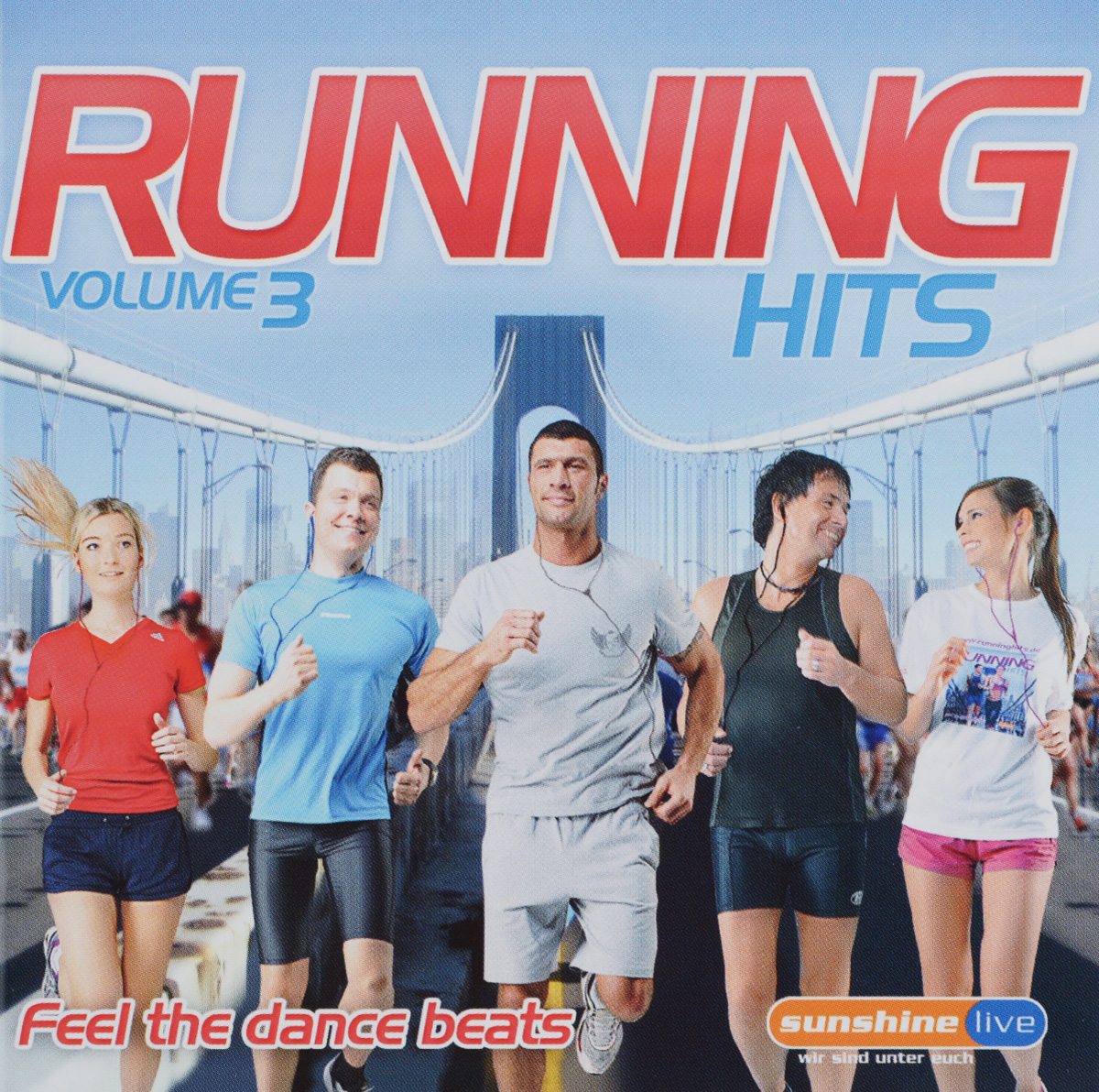 Running Hits. Volume 3. Feel The Dance Beats (2 CD)