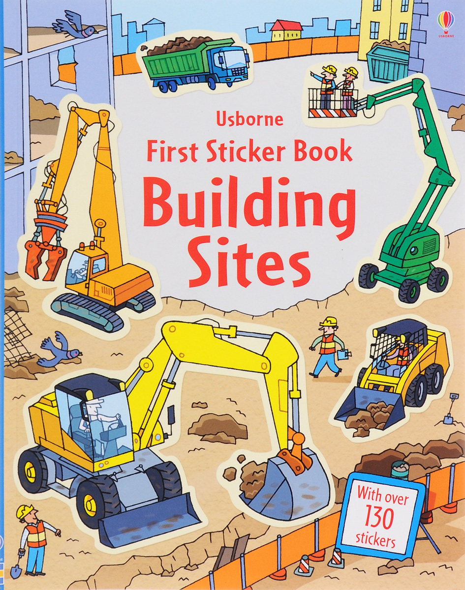 First Sticker Book: Building Sites