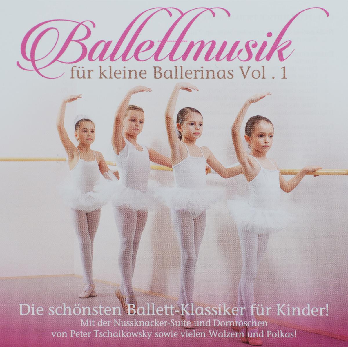 Orchester Der Wiener Volksoper,Карл Михальский,Питер Фальк Ballettmusik Fur Kleine Ballerinas. Vol. 1 (2 CD) der kleine konig psst dornroschen schlaft