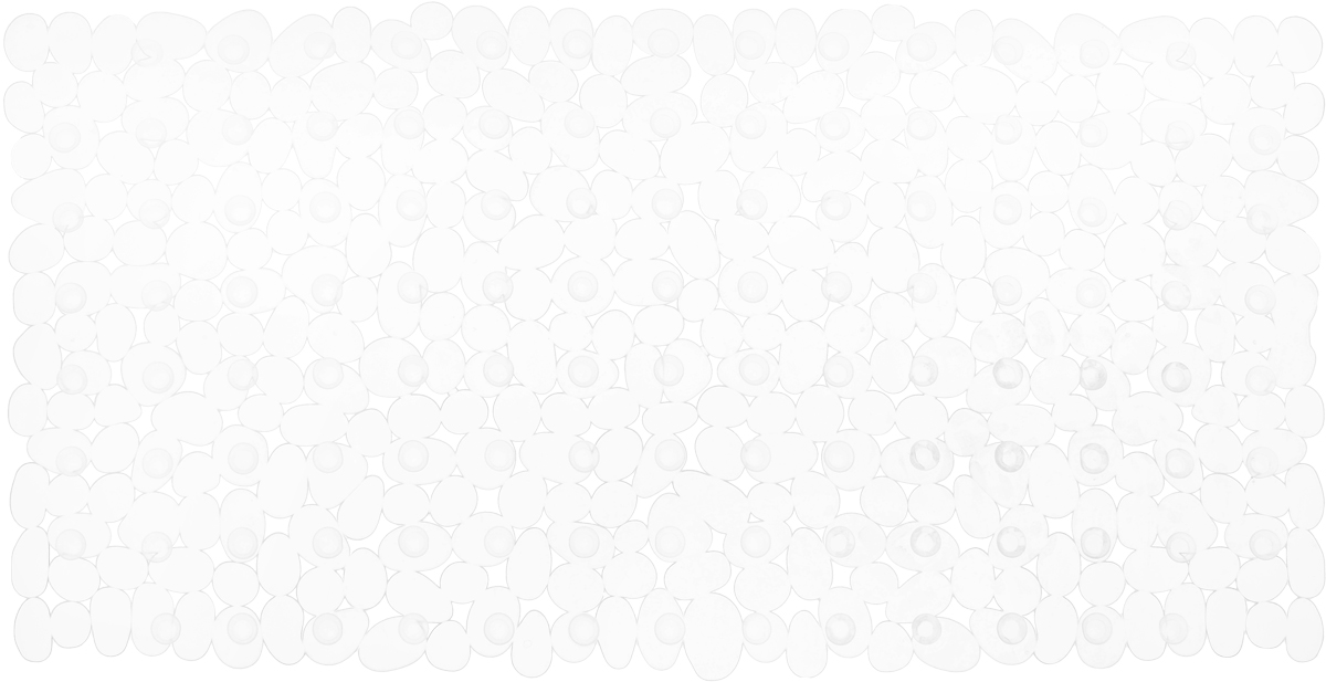 Коврик для ванной комнаты Proffi Камешки, противоскользящий, цвет: прозрачный, 70 х 36 смPH3526Коврик Proffi Камешки, изготовленный из ПВХ, предназначен для использования в ванной комнате и душевой кабине против скольжения. Изделие крепится на дно ванны с помощью небольших присосок. Благодаря рельефной поверхности, коврик предотвращает скольжение и исключает возможность падения в ванне.
