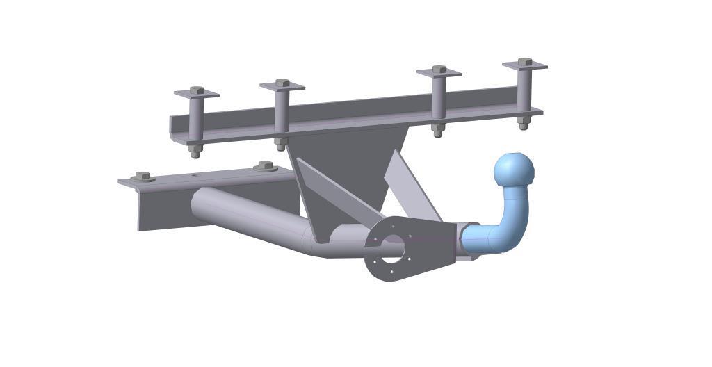 Фаркоп Bosal, для Lada 2113-2115 1996-1216-HФаркоп Bosal предназначен для крепления к автомобилю Lada 2113-2115. Тип шара Н - сварной шар, полностью не разборная конструкция. Шар (крюк) приварен к балке фаркопа.Допустимая горизонтальная нагрузка: 750 кг, вертикальная: 75 кг.