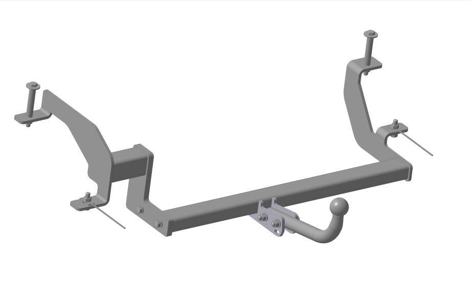 Фаркоп Bosal, для Opel Combo Minivan 2004-1174-AФаркоп Bosal предназначен для крепления к автомобилю Opel Combo Minivan. Тип шара А - это съемный кованый шар с 2 отверстиями. Стандартный шар на двух болтах - это практичный и наиболее используемый вариант. Шар крепится с помощью болтов, что дает возможность при необходимости снять его. Допустимая горизонтальная нагрузка: 1200 кг, вертикальная: 50 кг. В изделии применяется новый экологически безопасный способ окраски, исключает коррозию изделия даже при повреждении наружного слоя покрытия.