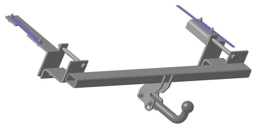 Фаркоп Bosal, для Opel Zafira B 2005/01-, без электрики1175-AФаркоп Bosal предназначен для крепления к автомобилю Opel Zafira. Тип фаркопа А - это съемный кованый шар с 2 отверстиями. Стандартный шар на двух болтах - это практичный и наиболее используемый вариант. Шар крепится с помощью болтов, что дает возможность при необходимости снять его. Допустимая горизонтальная нагрузка: 1500 кг, вертикальная: 75 кг.