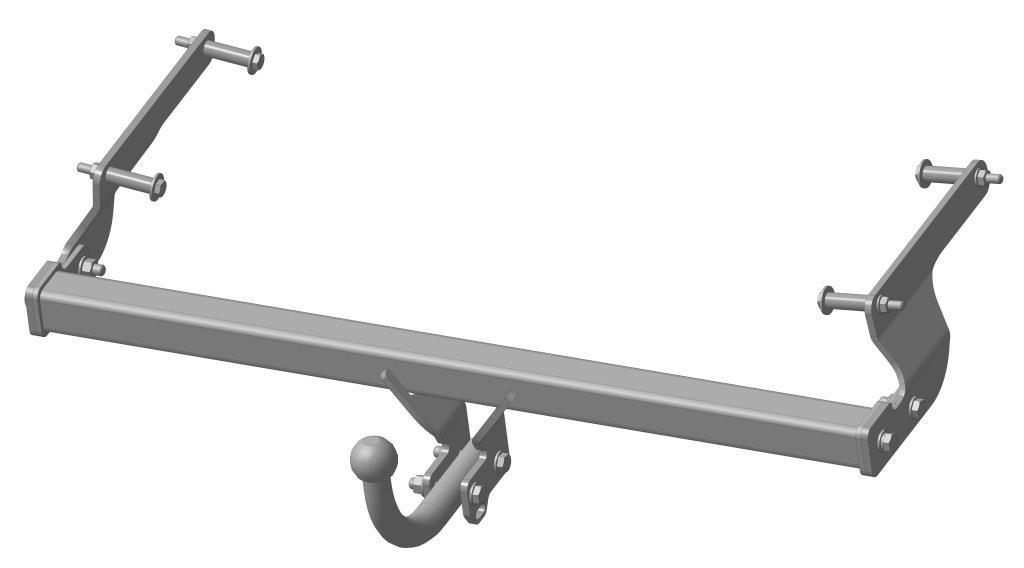 Фаркоп Bosal, для Renault Logan/Dacia Logan 2005-1418-AФаркоп Bosal предназначен для крепления к автомобилям Renault Logan/Dacia Logan. Тип шара А - это съемный кованый шар с 2 отверстиями. Стандартный шар на двух болтах - это практичный и наиболее используемый вариант. Шар крепится с помощью болтов, что дает возможность при необходимости снять его. Допустимая горизонтальная нагрузка: 1100 кг, вертикальная: 75 кг.